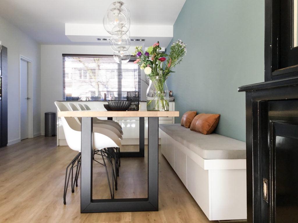 Nienke interieurprojecteninterieurplan woonkamer veghel for Woonkamer planner