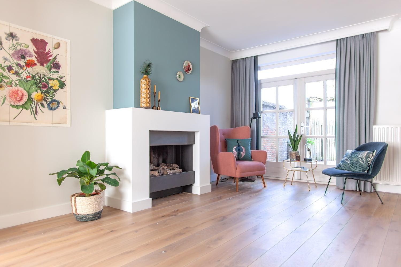 Portfolio - Interieuradvies woonhuis Drunen - foto- open haard 3