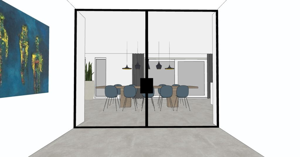 Interieurplan verbouwing keuken
