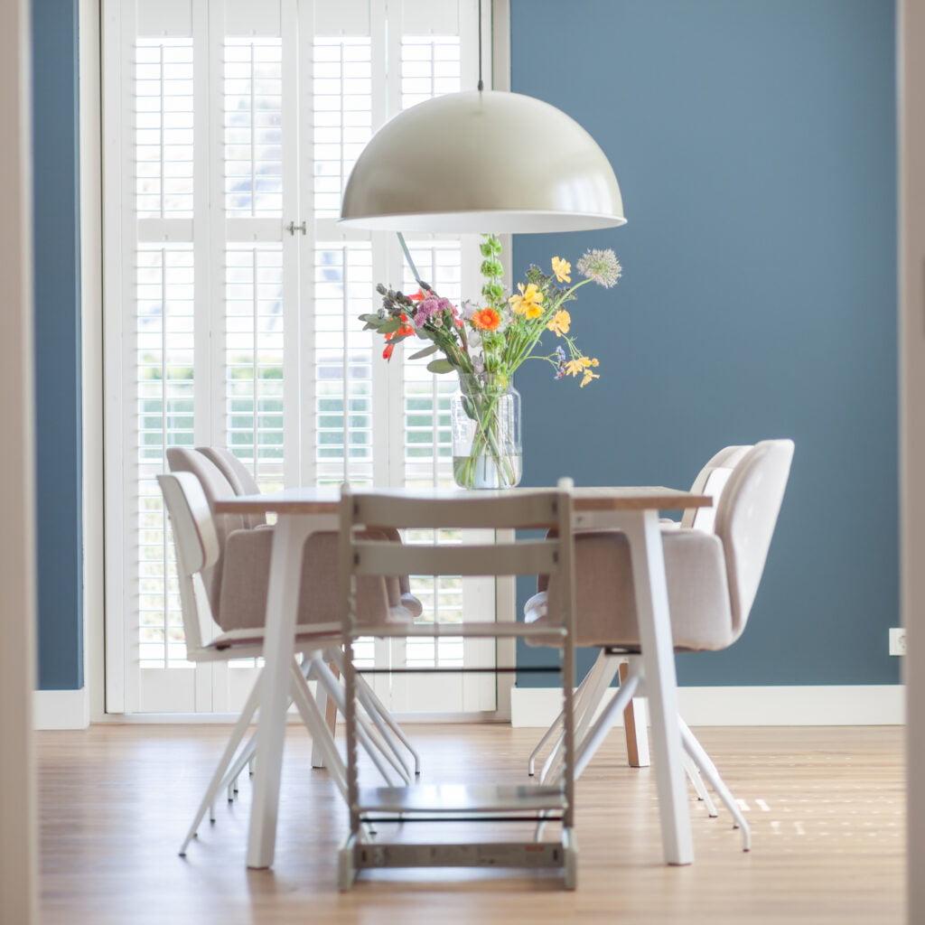 Portfolio - Interieuradvies woonhuis Drunen - foto- eettafel